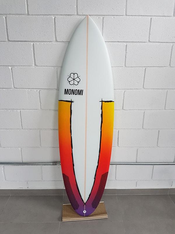Prancha Surf Monomi - Shortboard Wind